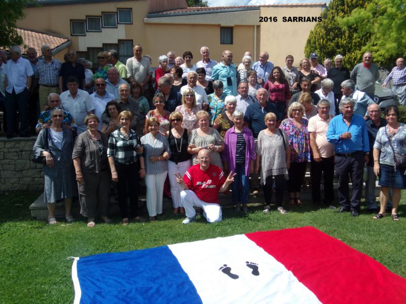 Rassemblement de Sarrians 2016